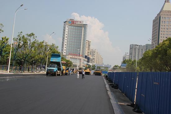 安庆市湖心中路改造工程