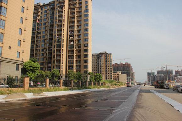 安庆市朝阳路改造工程